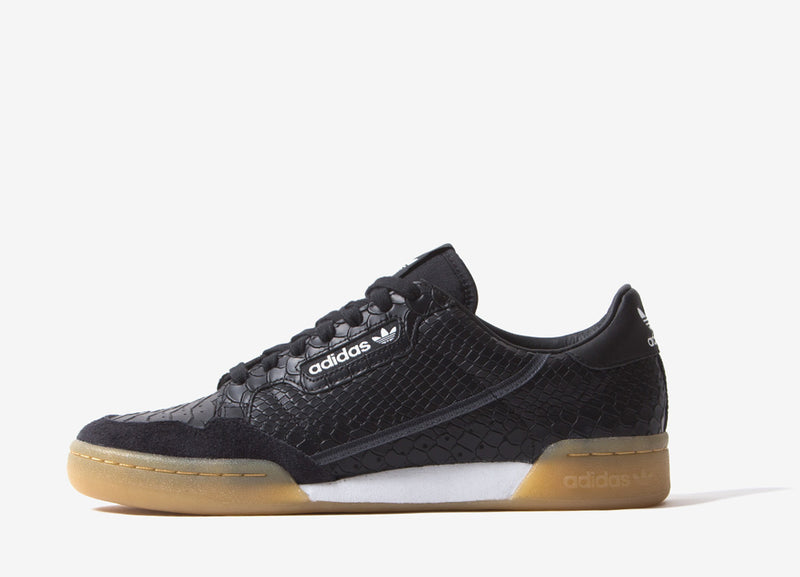 adidas Originals Continental 80 Shoes - Core Black/Carbon/Grey Five