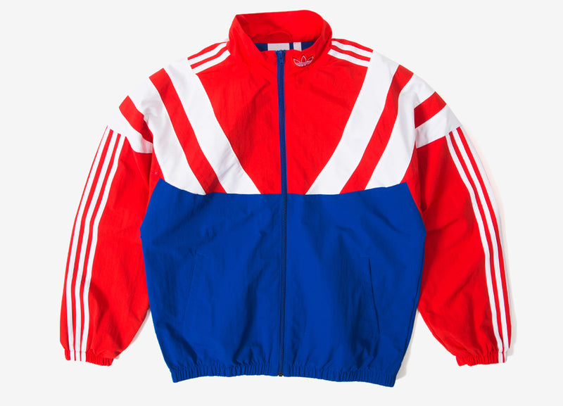 adidas Originals BLNT 96 Track Top - Royal/Red