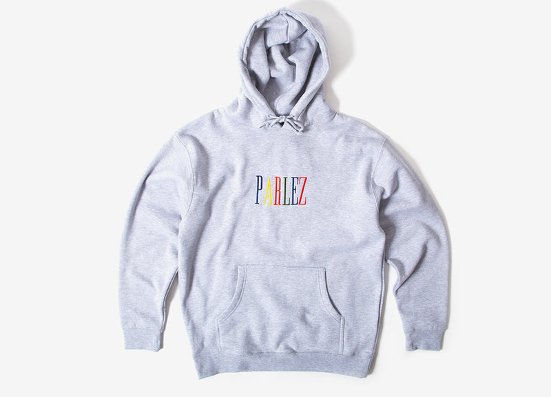 Parlez Anderson Pullover Hoody - Heather Grey