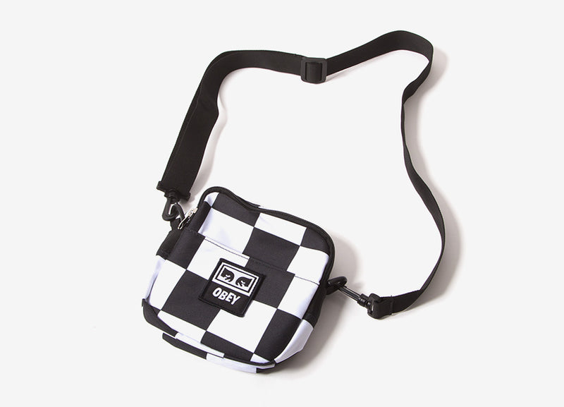 Obey Dropout Traveler Bag - Checkerboard