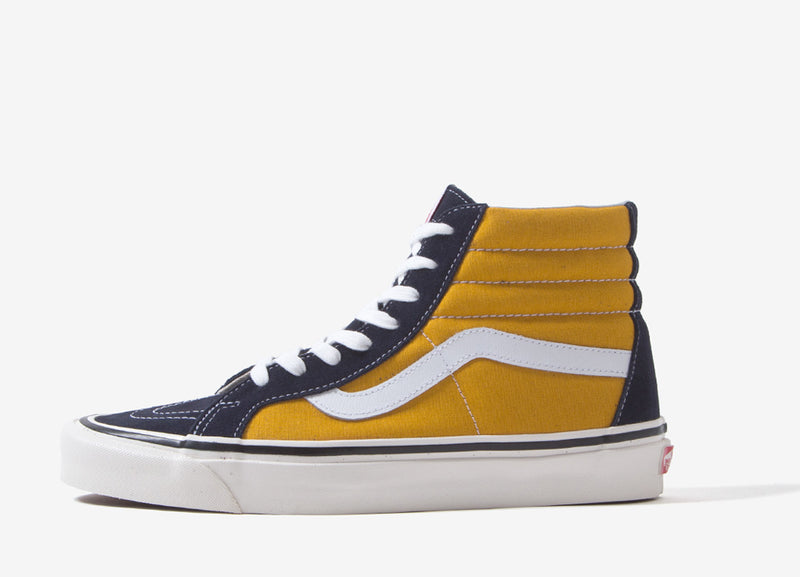 Vans Sk8-Hi 38 DX 'Anaheim Factory' Shoes - OG Navy