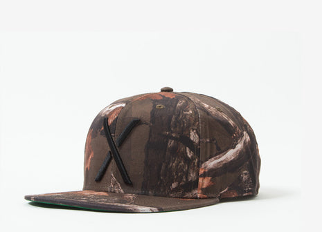 10Deep Larger Living Cap - Hunting Camo