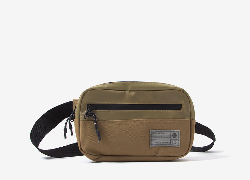 HEX Waistpack Bag - Aspect Tan