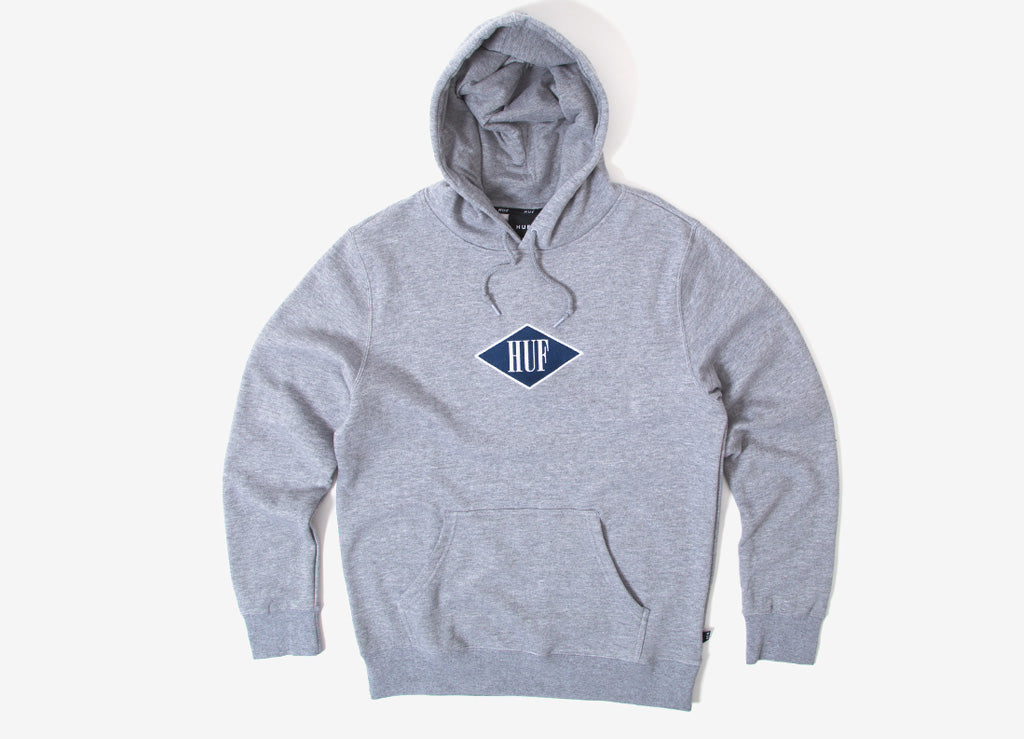 HUF Legacy Pullover Hoody - Athletic Heather