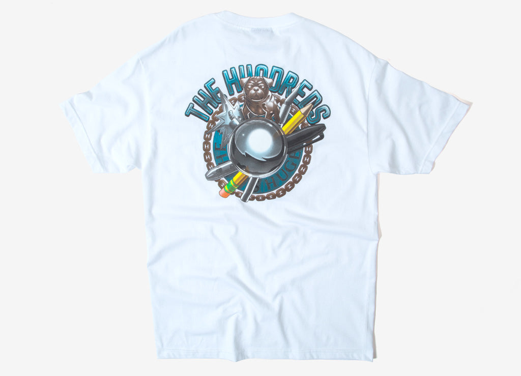 The Hundreds Destroy RT T Shirt - White