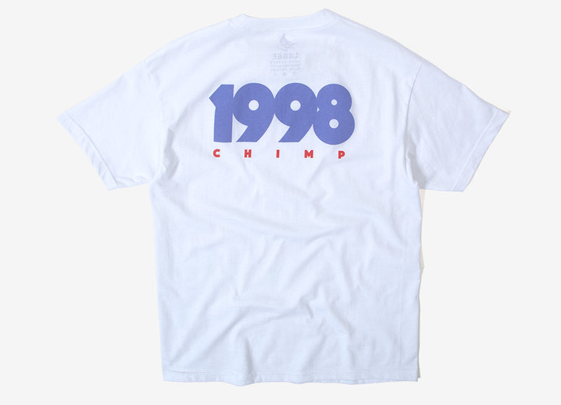 Chimp 1998 T Shirt - White