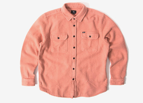 Obey Outpost Woven Shirt - Rose