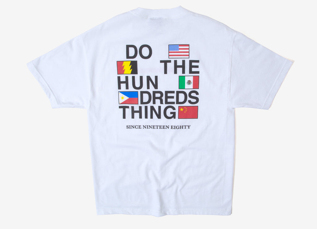 The Hundreds Love Hate T Shirt - White