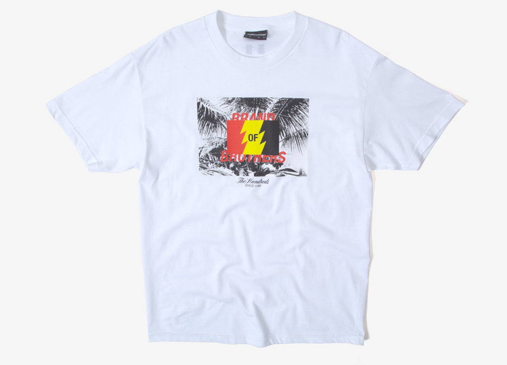 The Hundreds Brand T Shirt  - White