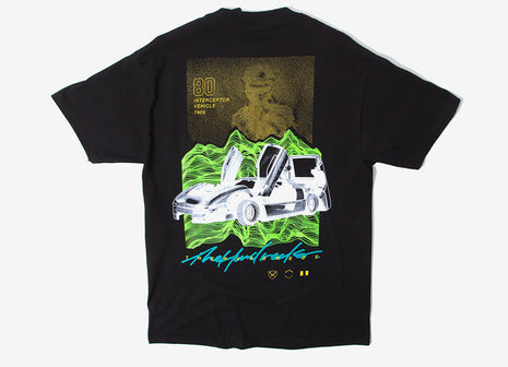 The Hundreds Interceptor T Shirt - Black