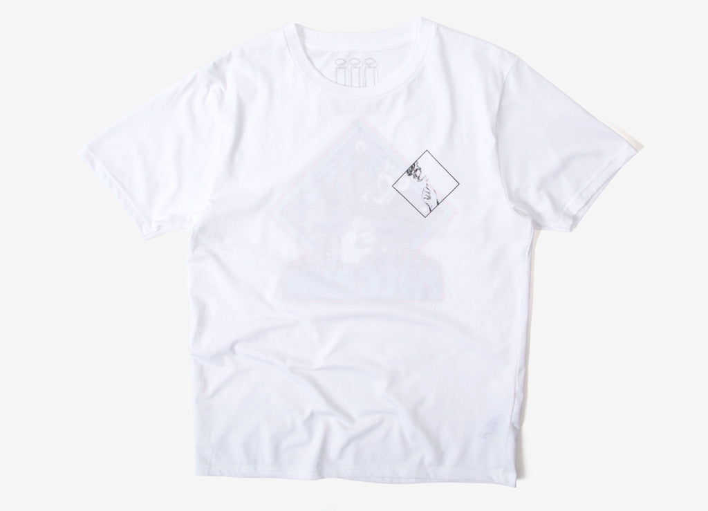 Piilgrim Pyramid T Shirt - White