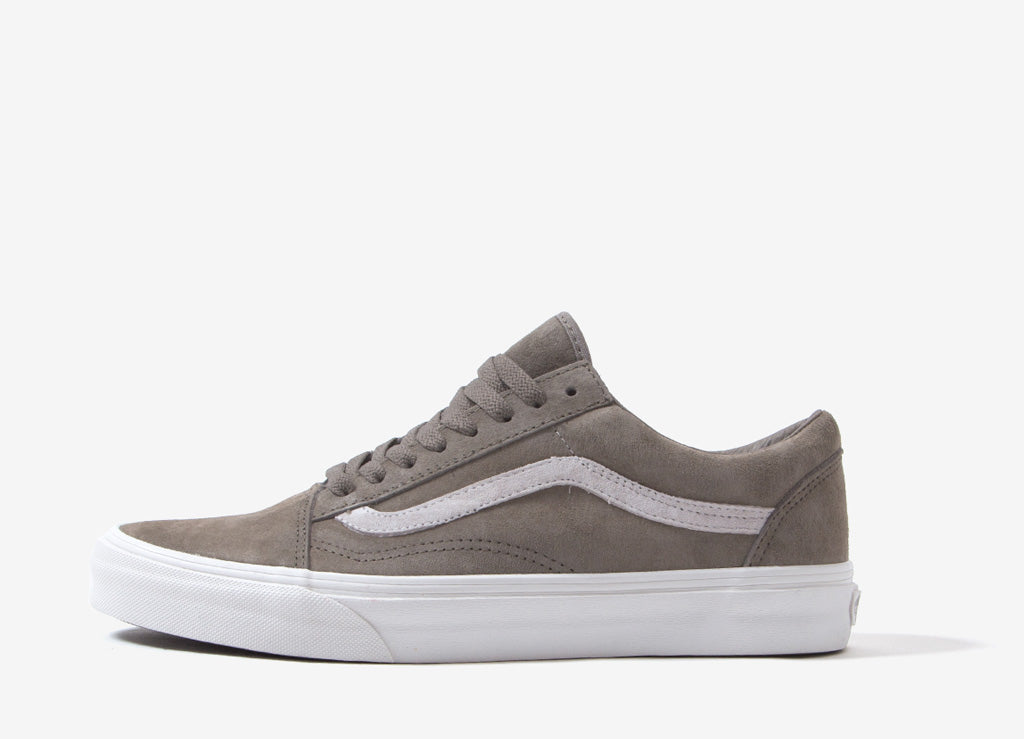 9b60d0ada9 Vans Old Skool  Pig Suede  Shoes - Fallen Rock Blanc