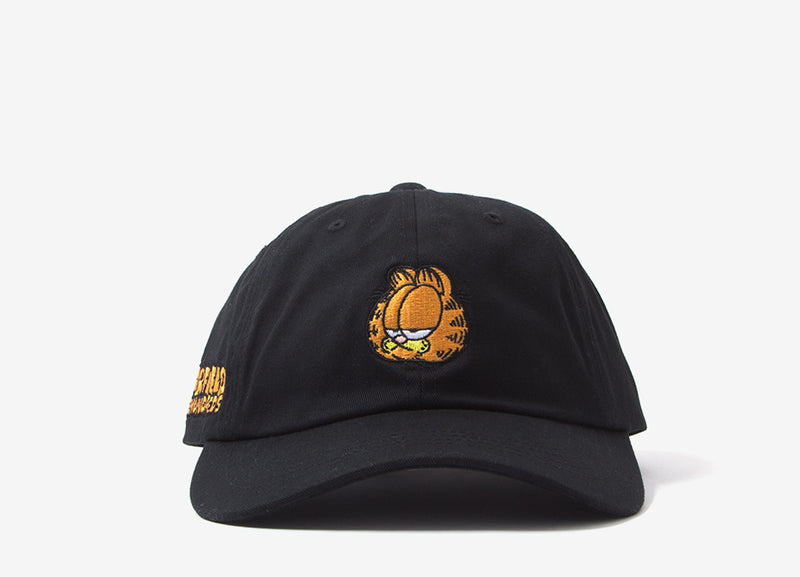 The Hundreds x Garfield Mood Dad Cap - Black