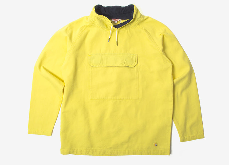 Armor Lux 77050 Smock Jacket - Yellow