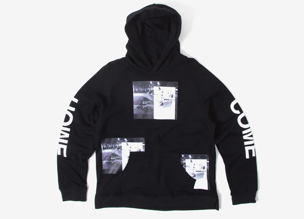 Profound Aesthetic Car Crash Pullover Hoody - Black