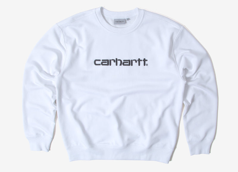 Carhartt Sweatshirt - White/Black