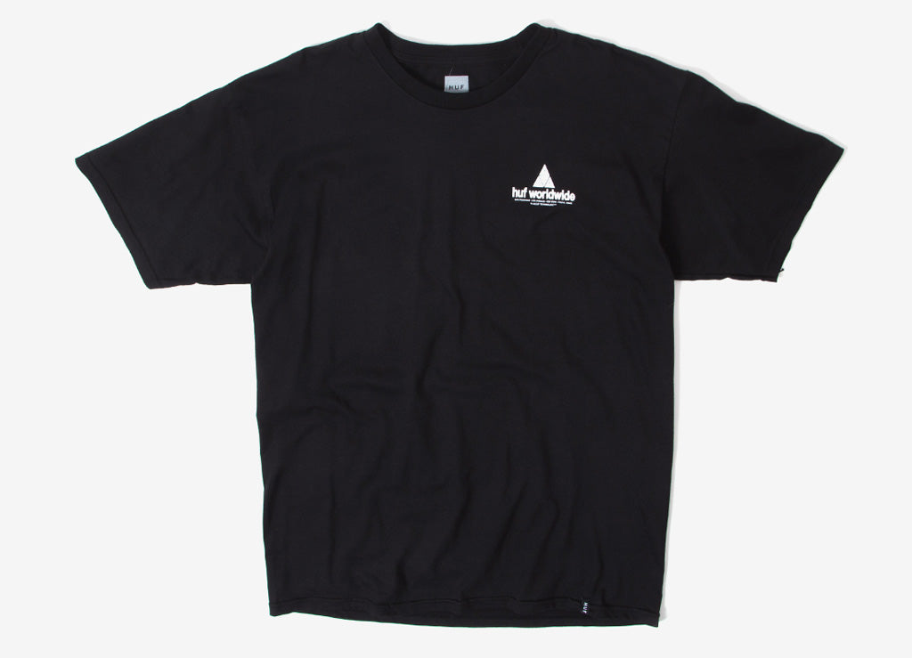 HUF Peak T Shirt - Black