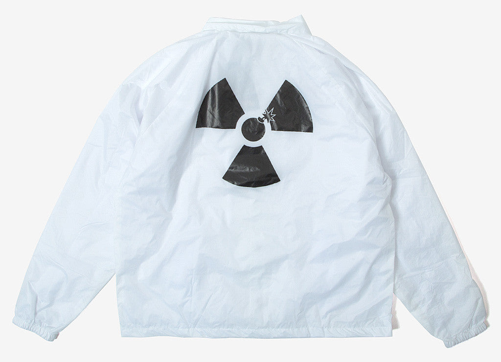 The Hundreds Doc's Coaches Jacket - White