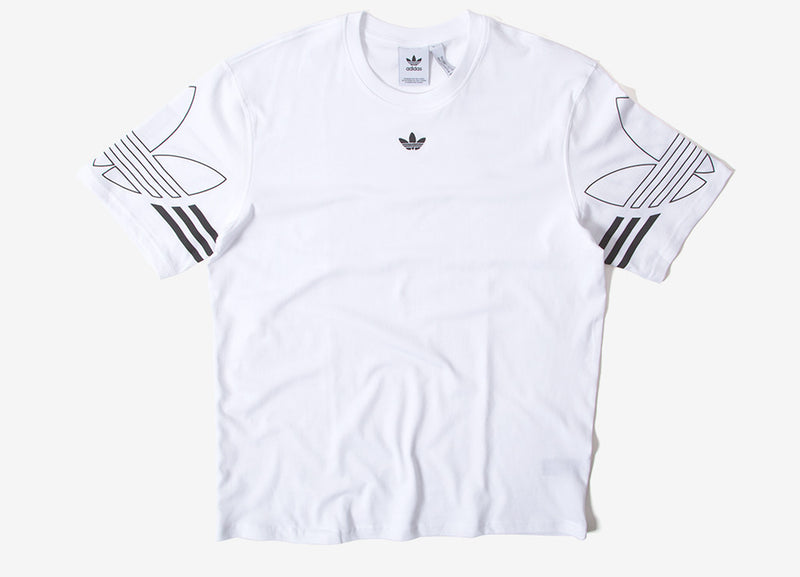 adidas Originals Outline T Shirt - White