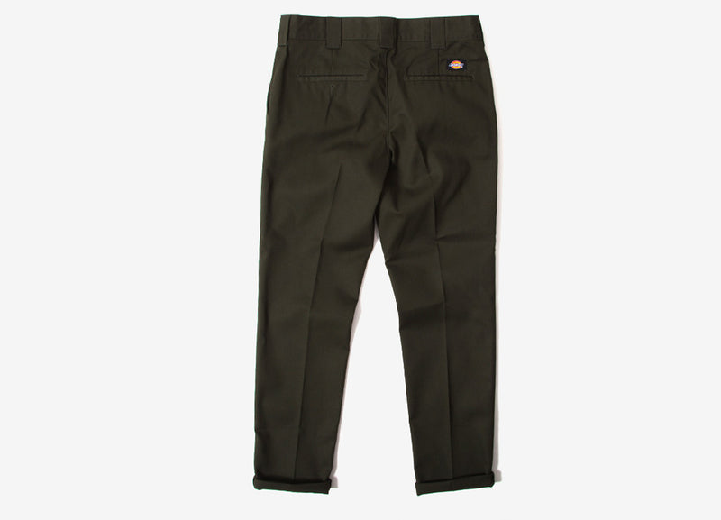 Dickies 872 Slim Fit Work Pant Trousers - Olive Green