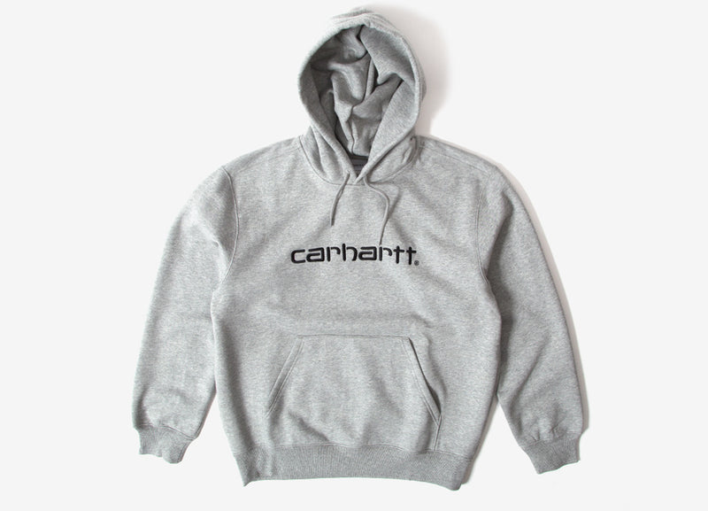 Carhartt Pullover Hoody - Grey Heather/Black