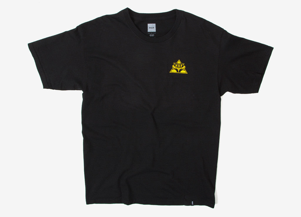 HUF Pyramid T Shirt - Black
