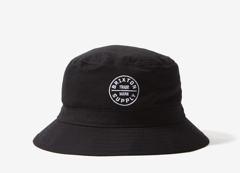 Brixton Oath Bucket Hat - Black