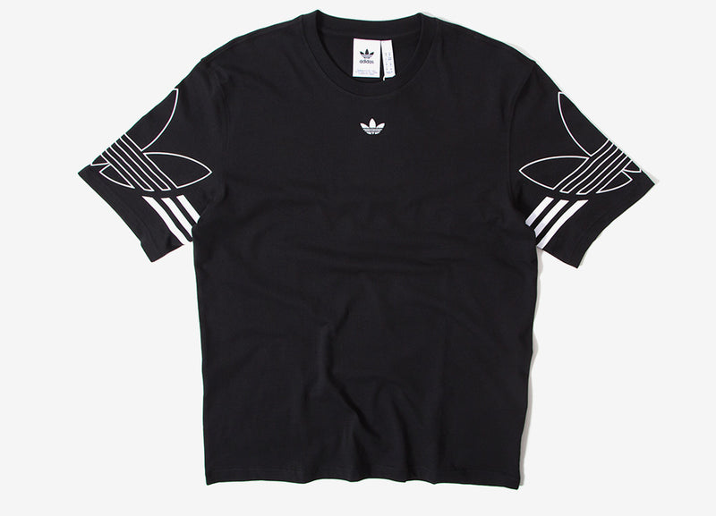 adidas Originals Outline T Shirt - Black
