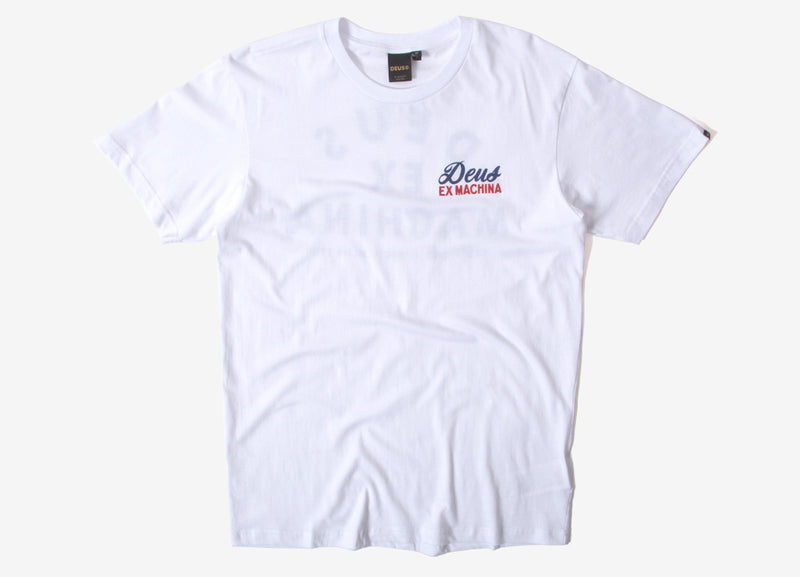 Deus Ex Machina Whirled T Shirt - White
