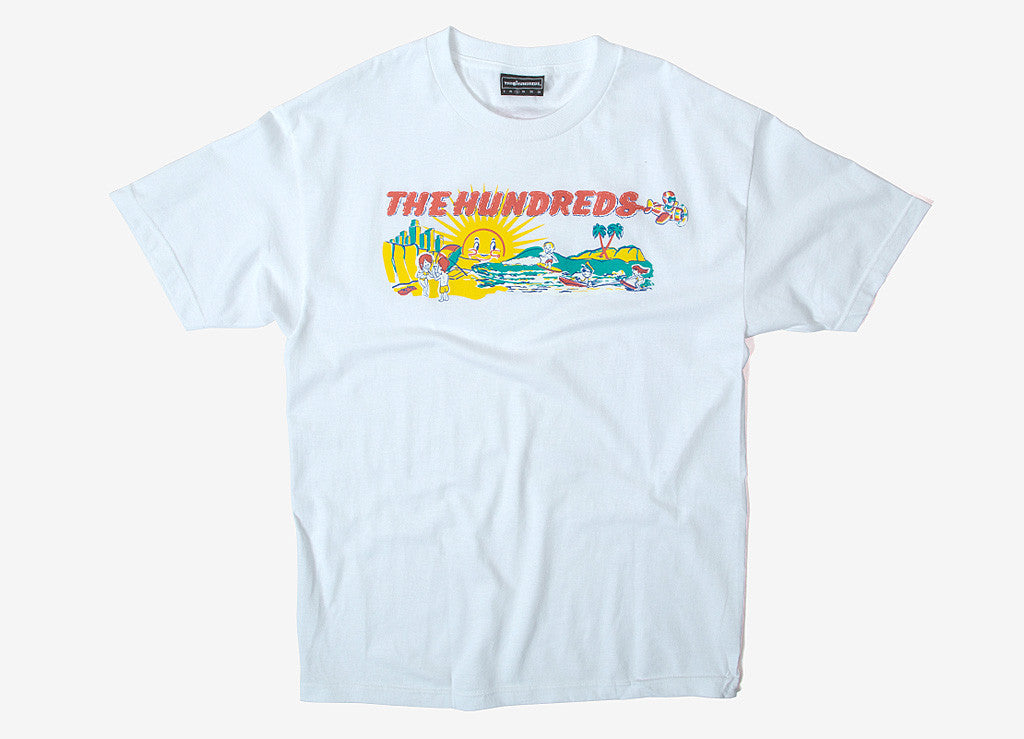 The Hundreds Californians T Shirt - White