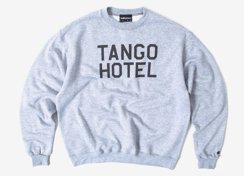 The Hundreds Tango Champion Crewneck Sweatshirt - Athletic Heather