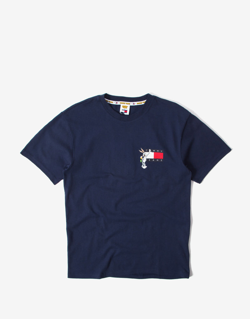 Tommy Jeans x Looney Tunes T Shirt - Navy