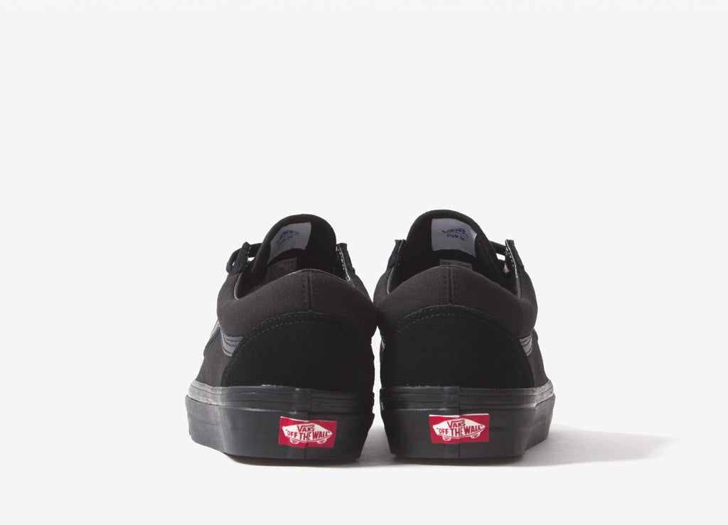 Vans Old Skool 36 DX 'Anaheim Factory' Shoes - Black/Black