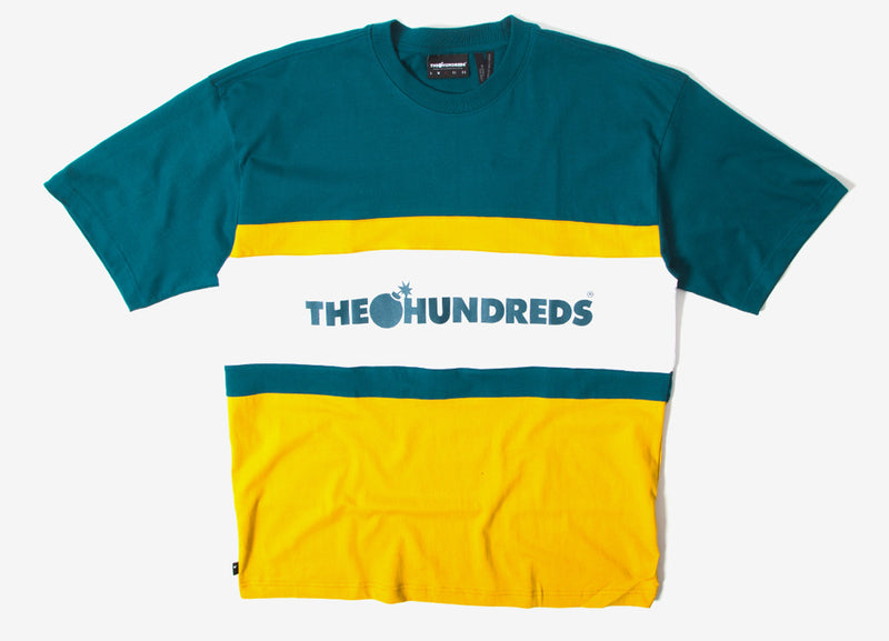 The Hundreds Club Knit T Shirt - Emerald
