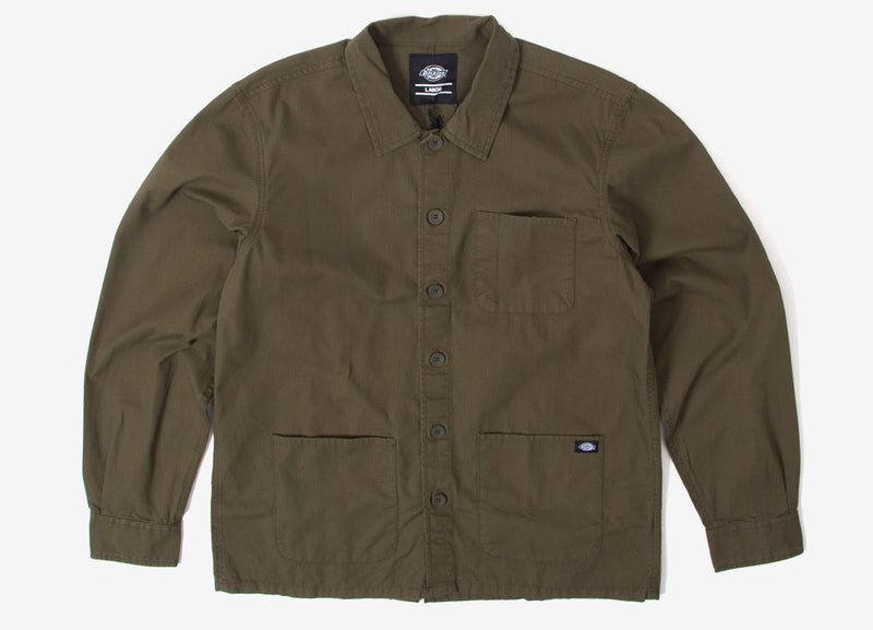 Dickies Kempton Work Shirt - Dark Olive