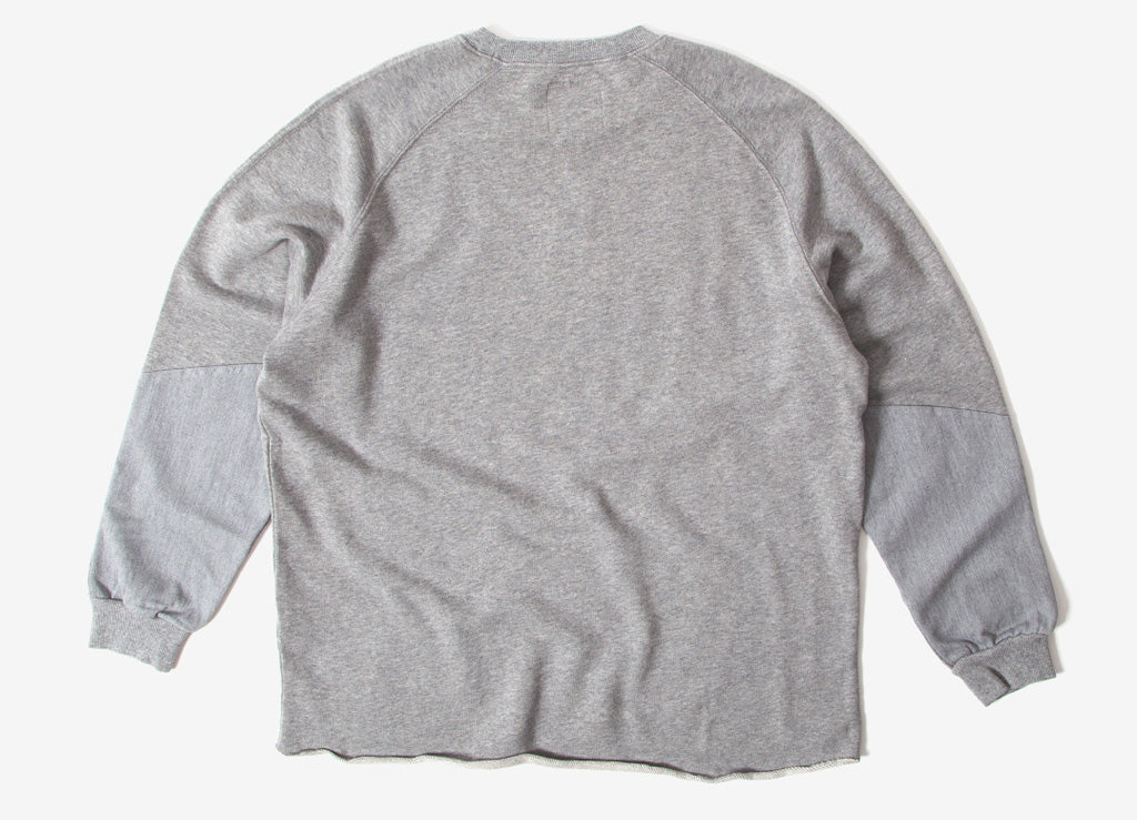 Gramicci Japan Talecut Sweatshirt - Heather Grey