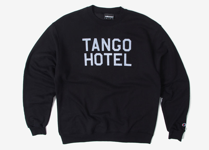 The Hundreds Tango Champion Crewneck Sweatshirt - Black