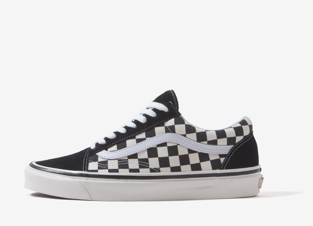 Vans Old Skool 36 DX 'Anaheim Factory' Shoes - Black/Check