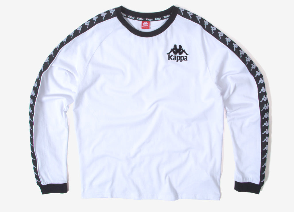 Kappa Dixon Authentic Sweatshirt - White/Black