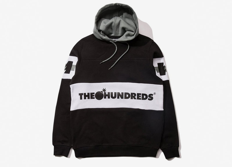 The Hundreds Tilly Pullover Hoody - Black