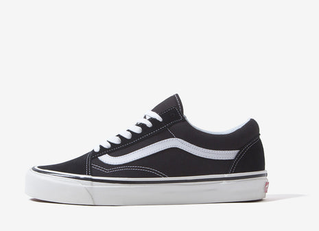 Vans Old Skool 36 DX 'Anaheim Factory' Shoes - Black/True White