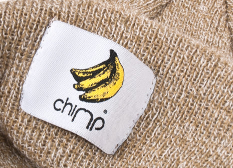 Chimp Basic Beanie - Oatmeal Heather