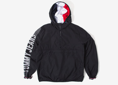 Tommy Jeans Graphic Pullover Jacket - Black