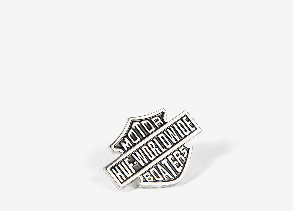 HUF Boaters Lapel Pin - Black