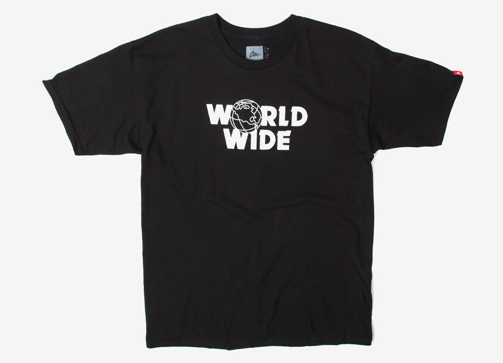 CLSC Worldwide T Shirt - Black