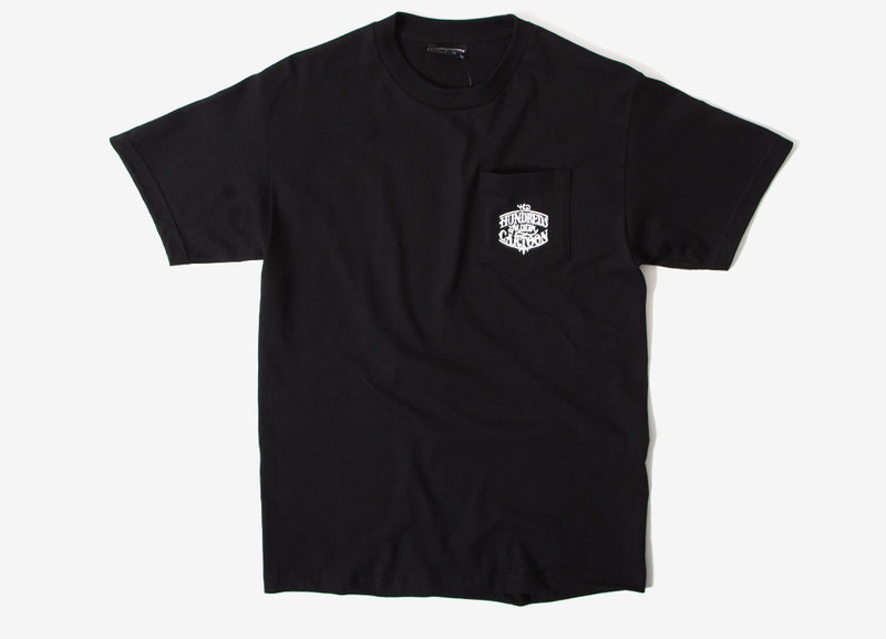 The Hundreds x Mister Cartoon Clown Pocket T Shirt - Black