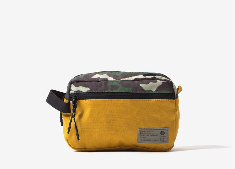HEX Aspect Dopp Kit - Gold/Camo