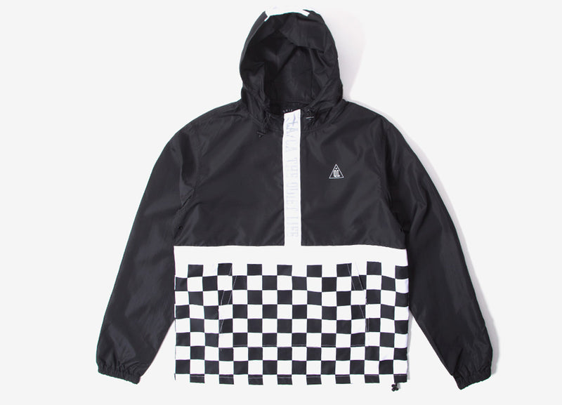 The Quiet Life City Limits Checker Pullover - Black/Checker