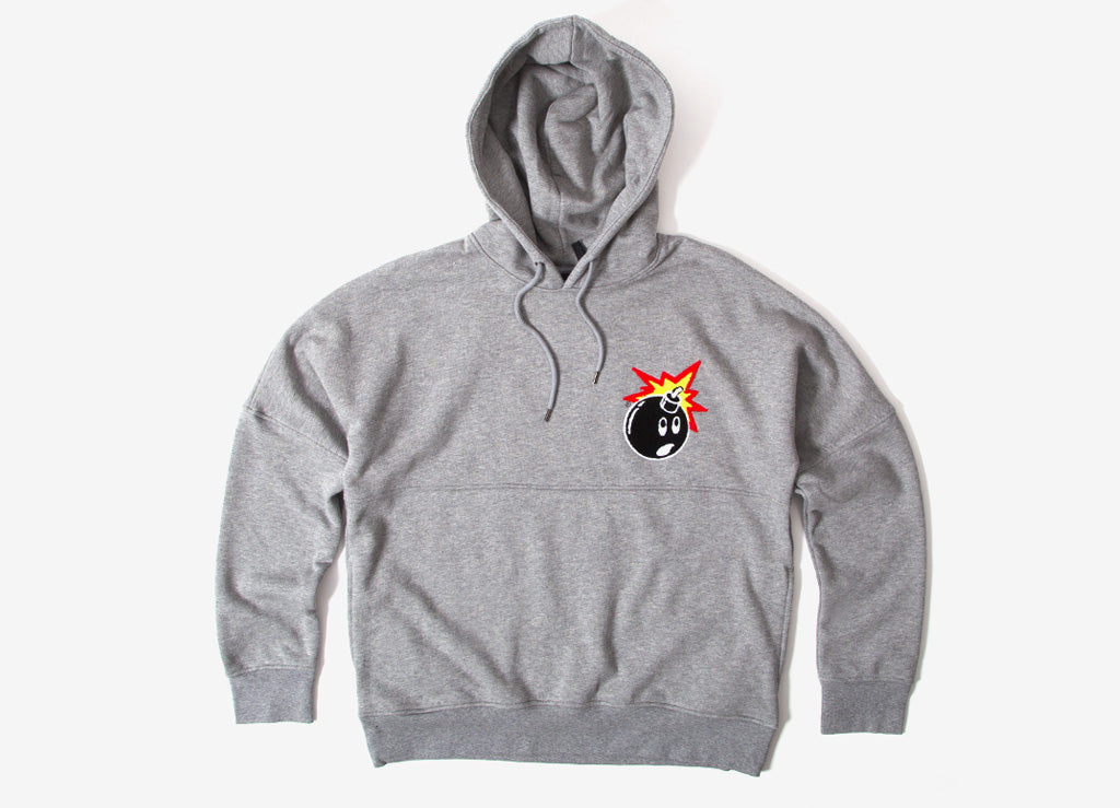 The Hundreds Stalker Pullover Hoody - Athletic Heather