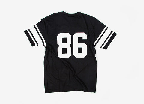 HUF Wrecking Ball Football Jersey - Black